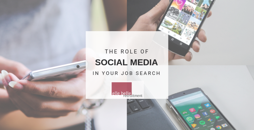 Social Media in Job Search