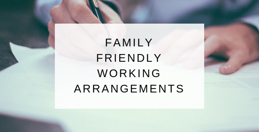 Family Friendly Working Arrangements blog