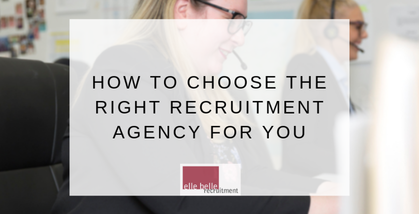 How to Choose the Right Recruitment Agency for you blog (1)