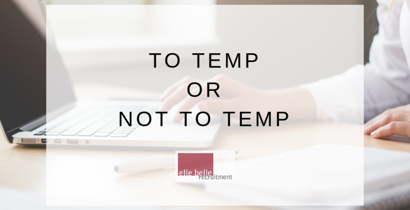 To Temp or Not to Temp